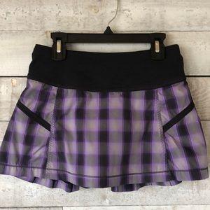 Lululemon Speed Shorts (skirt/shorts)